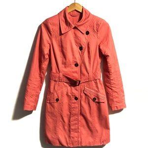 "Espirit ""edc"" Coral Trench Coat with belt 😍"